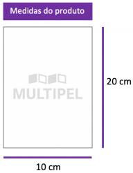 Saco Plástico 10x20 cm 0,06 com 1 Kg