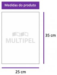Saco Plástico 25x35 cm 0,10 com 5 Kg