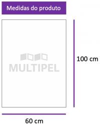 Saco Plástico 60X100 cm 0,06 com 5 Kg