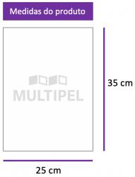 Saco Plástico 25X35 cm 0,20 com 1 Kg