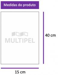 Saco Plástico 15X40cm 0,06 com 1 Kg