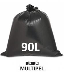 Saco Lixo Preto Reforçado 90 Litros 0,10 com 5 Kg