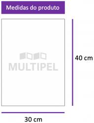Saco Plástico 30X40 cm 0,06 com 1 Kg