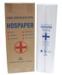 Lençol Hospitalar de Papel 70cm pacote com 2 rolos x 50 metros