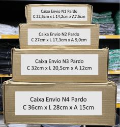Caixa de Papelão Pardo Envio N2 (27 X 17,3 X 9) Unitária