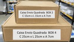 Caixa de Papelão Pardo Envio Box 4 (25x25x7) Unitária