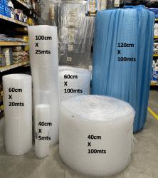 Plástico Bolha Bobina Reforçado 60 cm  x 100 metros