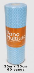 Pano Multiuso Slim  30m x 30cm Azul