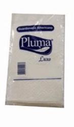 Guardanapo de Papel Americano  Pluma Luxo 16,5cm X 20,5cm pacote com 100 un.