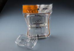 Embalagem Retangular Rocambole Baixo GA 18 SF 2000ml Pacote com 10 un.