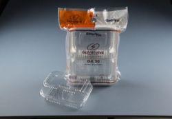 Embalagem Retangular Rocambole Alto GA 20 SF 2500ml Pacote com 10 un.