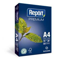 Papel Sulfite A4 Report Premium 75g Pacote 500 Folhas.