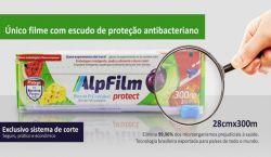 Filme PVC - Plástico Filme Esticável Trilho 28cm x 300mt
