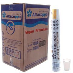 Copo Plástico Descartável PP 300ml Branco  ABNT Caixa 20x100 un.