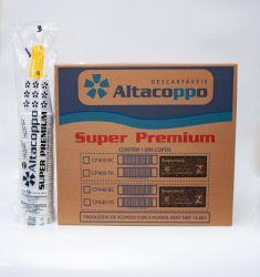 Copo Plástico Descartável PP 400ml Branco  ABNT Caixa 20x50 un.