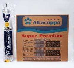 Copo Plástico Descartável PP Liso  440ml Transparente  ABNT Caixa 20x50 un.