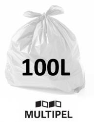 Saco Lixo Branco Reforçado 100 Litros 0,15 com 1 Kg