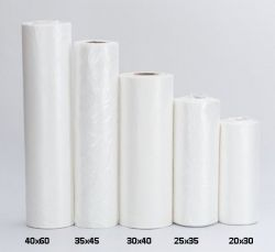 Saco Plástico Picotado Reforçado 20x30 Bobina com 900 Sacos