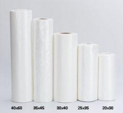 Saco Plástico Picotado Reforçado 25x35 Bobina com 700 Sacos
