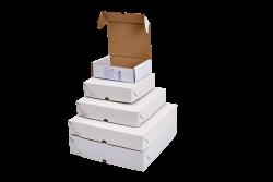 Caixa de Esfiha / Salgado n°3 (25x25x5) Fardo de 25un.