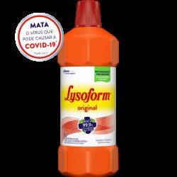 Desinfetante Lysoform Líquido Bruto Original 1L