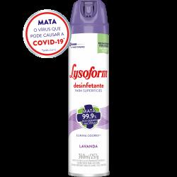 Desinfetante Lysoform Aerossol Lavanda 360ml