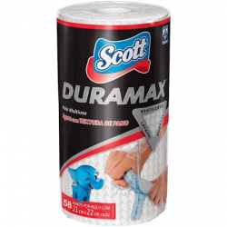 Pano de Limpeza Reutilizável Scott Duramax com 58 un.