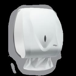Dispenser para Papel Toalha Interfolhas 2 ou 3 dobras Velox Branco