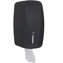 Dispenser Papel Higiênico Interfolhado (cai cai) Premisse Invoq Preto