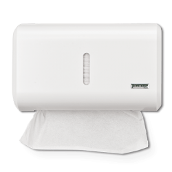 Dispenser Compacto Papel Toalha Interfolhas 2 ou 3 dobras Urban -  Branco