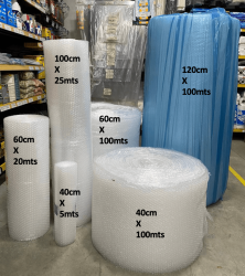 Plástico Bolha Bobina Reforçado 1,30 metros x 100 metros