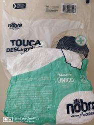 Touca Descartável em TNT Nobre c/100