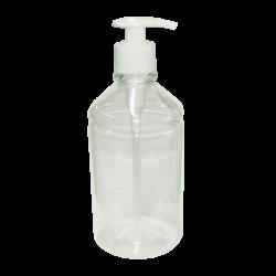 Saboneteira Pump para Sabonete Líquido e Álcool Gel 450ml Nobre