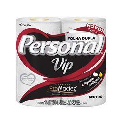 Papel Higiênico Folha Dupla Personal Vip c/4 rolos