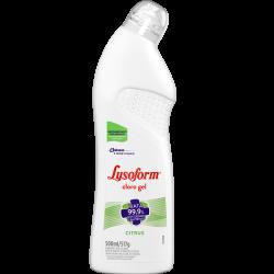Desinfetante Lysoform Cloro Gel Citrus 500ml