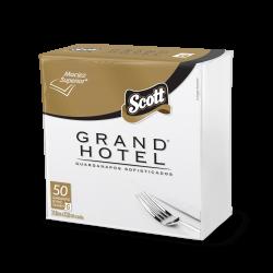 Guardanapo Scott Grand Hotel Família 31,8X32,8 cm c/ 50 unid.