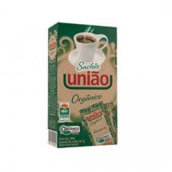 Açúcar União Orgânico Sachê c/40.