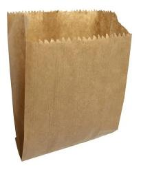 Saco de Papel Mix Pardo Liso 1/2 kg  Pacote 100 un.
