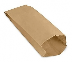 Saco de Papel Mix Pardo Liso 5 kg  Pacote 500 un.