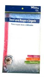 Saco Lavar Roupas Delicadas c/ Zíper 60x50cm
