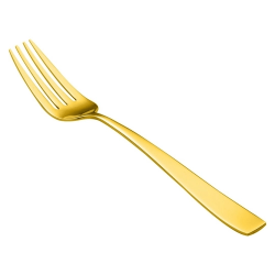 Garfo Sobremesa Descartável Premium Gold c/10 unid.