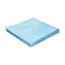 Guardanapo Folha Dupla Azul Claro 25x25 cm c/ 20 unid.
