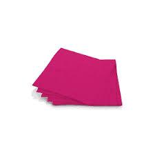 Guardanapo Folha Dupla Rosa Pink 25x25 cm c/ 20 unid.