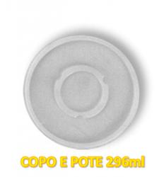 Tampa Plástica p/ Copo 296ml Darnel c/100