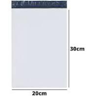 Envelope Plástico de Segurança com Lacre Inviolável 20x30 c/250 unid.