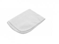 Flanela Branca 100% Algodão Pequena 28cm x 38cm  Fardo c/12 unid