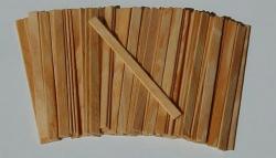 Palito Sorvete Comum em Madeira A Granel Caixa c/10.000 unid.