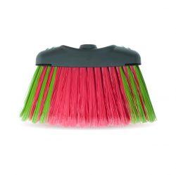 Vassoura Limp Mais Rosa e Verde Fiory 58 tufos c/ Cabo 1.20m