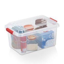 Caixa Organizadora Retangular Baú c/ Travas Nitronbox 4,3L