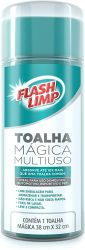 Toalha Mágica 32x43cm FlashLimp